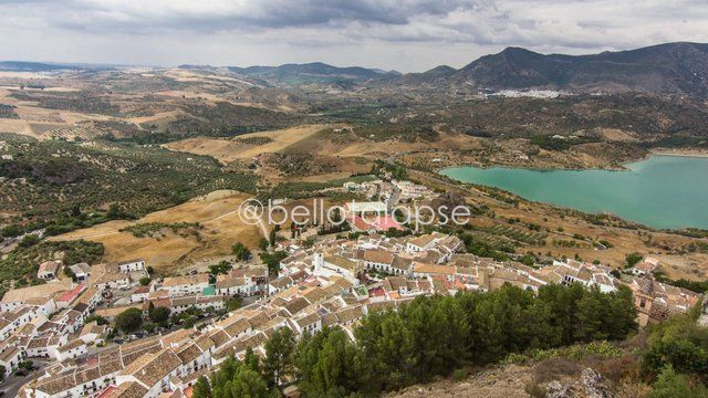 Timelapse recorded in Zahara de la Sierra, a town in the Sierra de Cádiz, Spain #timelapse