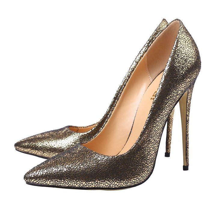 Amazon Guoar Womens Stiletto Heel Sandals Big Size Glitter Shoes Pointed Toe Pumps