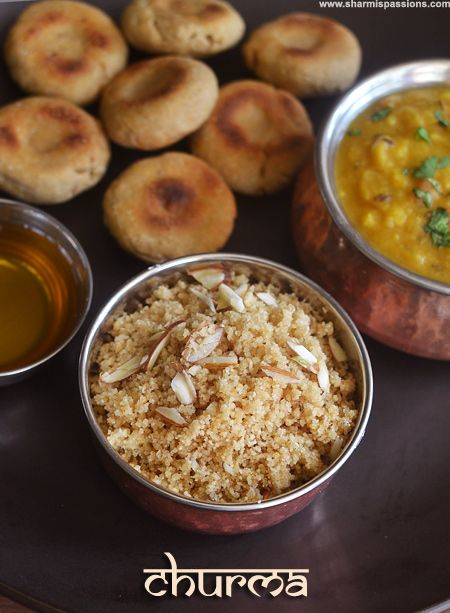 Dal Bati Churma Recipe