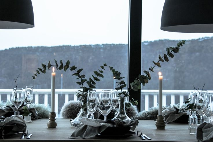 Nordic table setting // by Rust