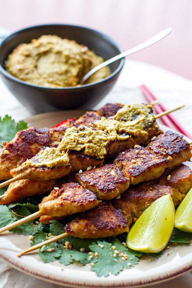 paleo_satay_chicken_recipe | #australiaday #aussiebbq #paleo