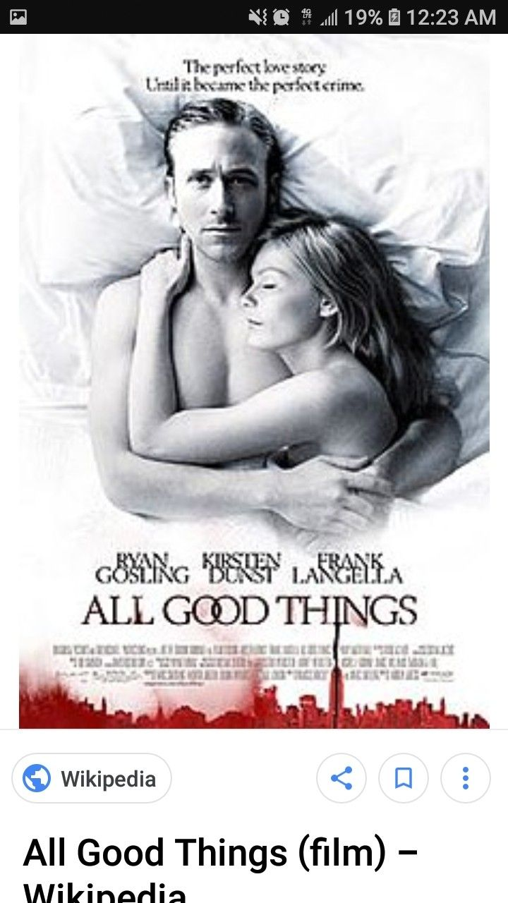 all good things movie on tv