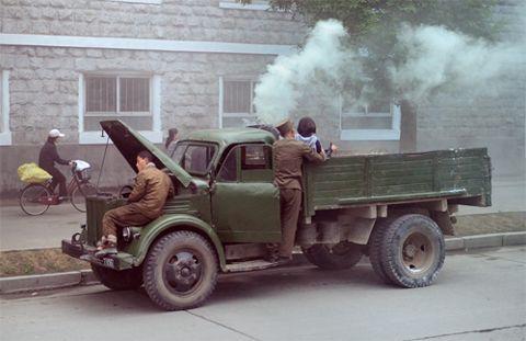 Corée du nord encore au gazogène
