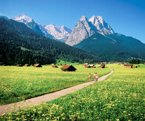 Wie im Bilderbuch! #Bavaria #Germany #mountain #summer #landscape #view
