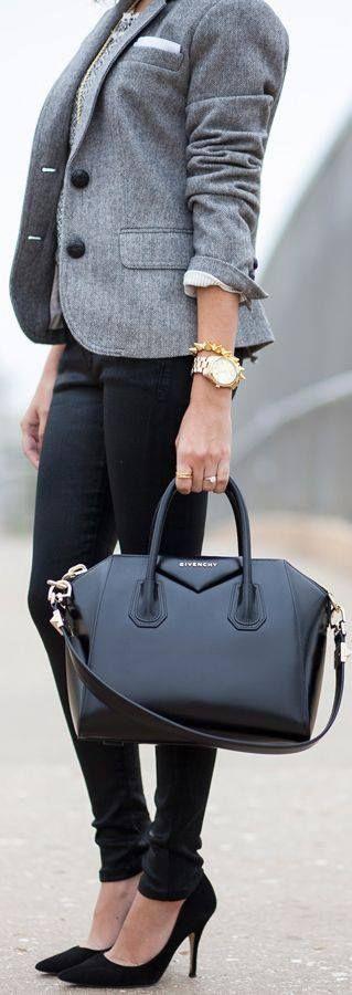 Brooklyn Blonde has Styled this Tahari Marla Shawl-Collar Wrap Coat to Perfection.