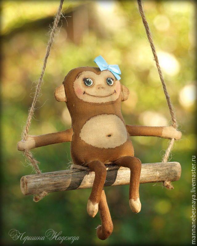 обезьяна кукла ручная работа - Поиск в Google