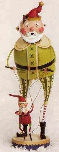 I have this Lori Mitchell figurine ~ love it!           Toymaker