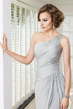 If it's full length, which it sort of looks like, it's a gorgeous option for bridesmaids