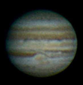 My Image of Jupiter processed from a 20 second video. The great red spot appears to have a friend :D
