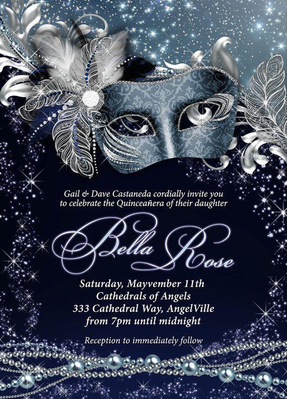 Masquerade Party Invitation Mardi Gras Party Party Etsy Masquerade Invitations Masquerade Party Invitations Party Invite Template