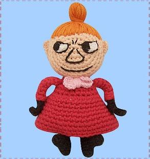 cloth-ears: retro crochet moomin little my