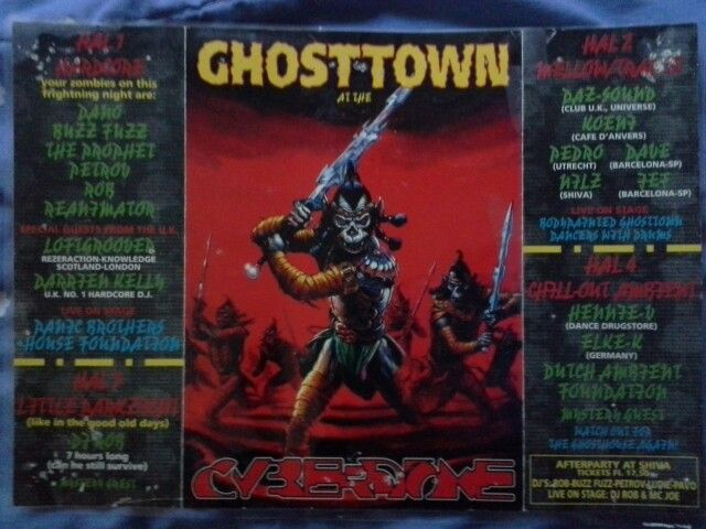 Ghosttown at the Cyberdome Vechtse Banen Utrecht 94/95