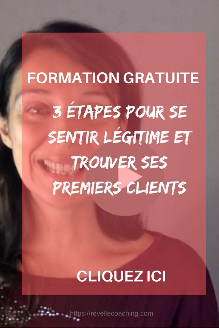 [#Formation] Pas à pas, vous trouverez votre légitimité et aurez vos premiers clients.