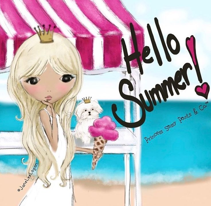 Hello Summer! ~ Princess Sassy Pants & Co