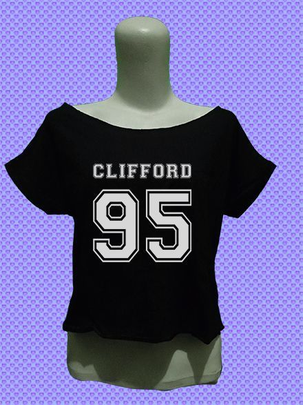 5sos 5 second of summer 5 sos michael clifford 95 crop top tee shirt womens women girl fashion outfit #Unbranded #CropTop #Casual
