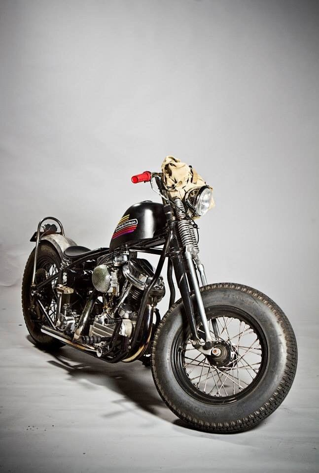 Bobber Inspiration - Bobbers and Custom Motorcycles | recycled-garage June 2015