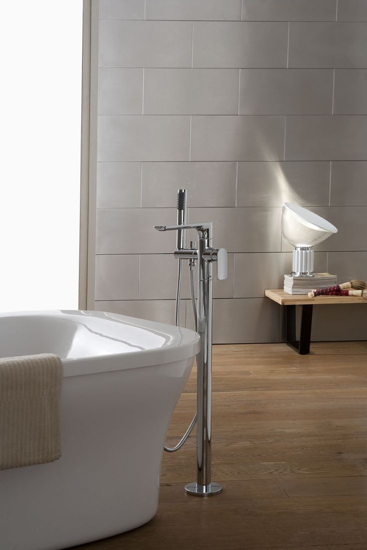 sleek and functional the sento tub filler defines any space