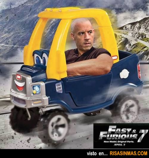 Primera imagen de Fast & Furious 7
