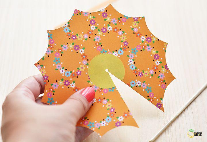 tuto parasol papier