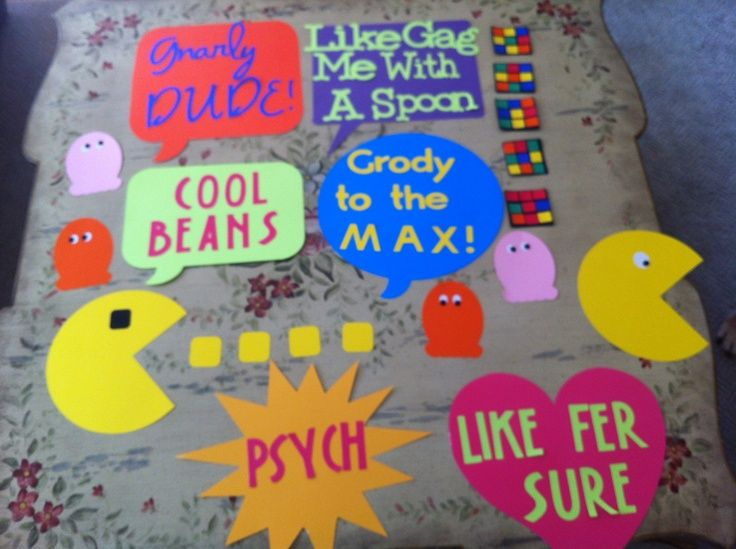 25 best ideas about 1980s party decorations on pinterest for Homemade 80s decorations