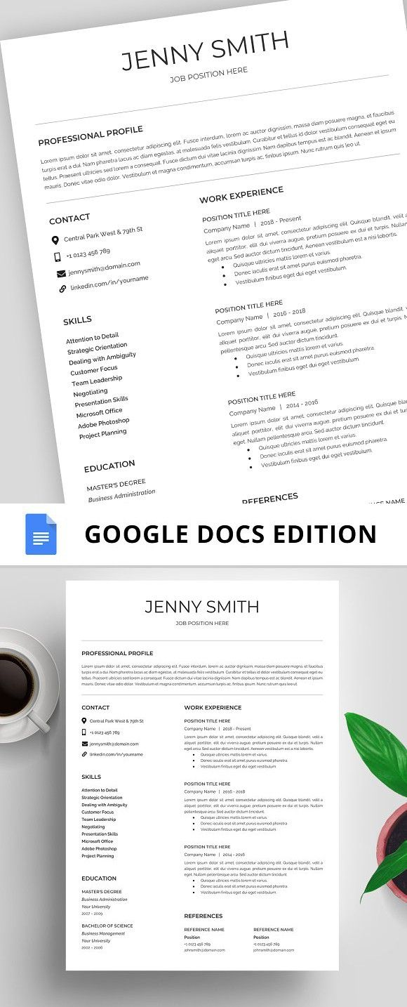 resume template cv google docs stationery templates pinterest