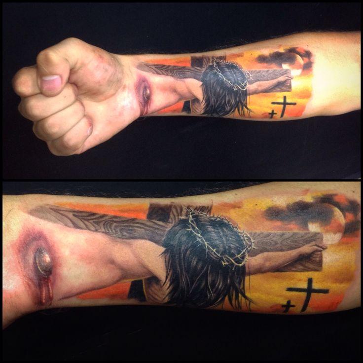 33 Best 3d Tattoo Of Jesus Images On Pinterest