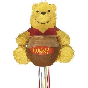 Winnie The Pooh Pull Pinata with his Honey Pot.