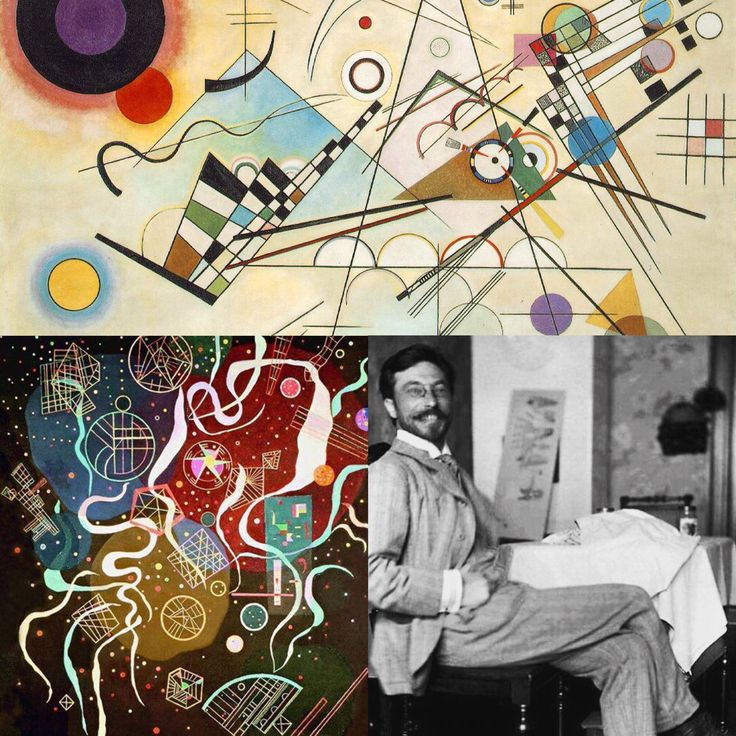 Wassily Wassilyevich Kandinsky (1866-1944) was an influential Russian painter and art theorist. He is credited with painting one of the first purely abstract works. bauhaus-movement.com