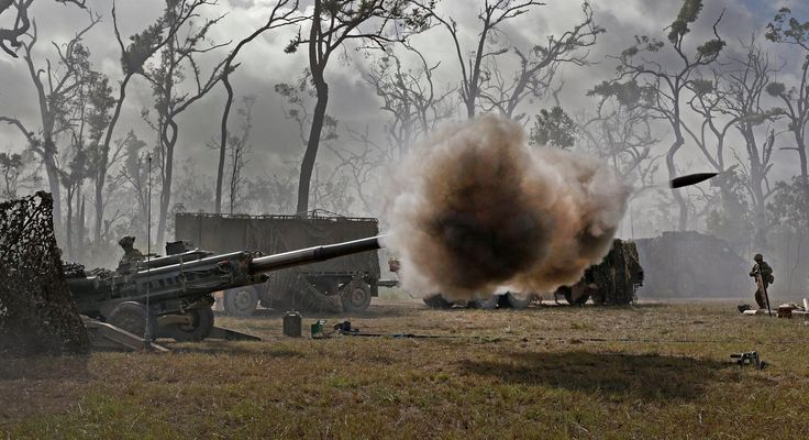 m777 howitzer : image, wall, pic
