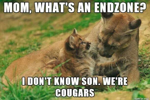 Bahaha! University of Utah vs Brigham Young University. Utes win!
