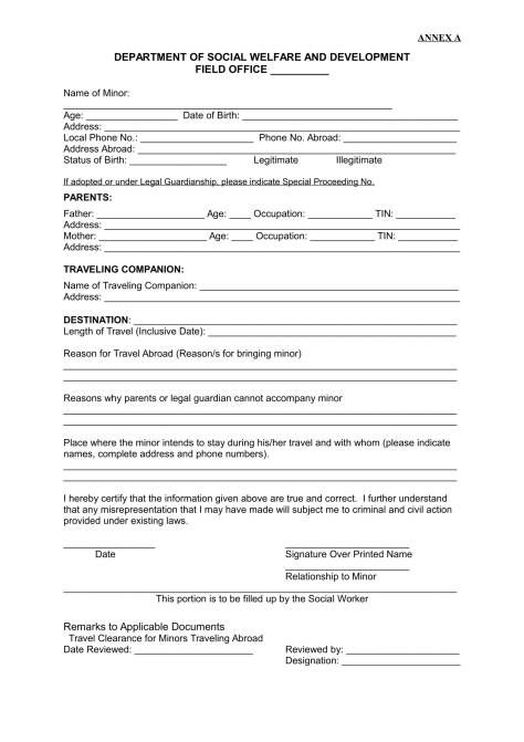 child travel consent form word doc best online resume builder instructions forparental guardian approval forminor and