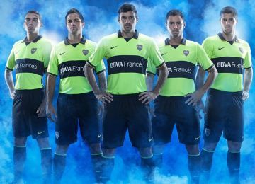 Boca Juniors 2014 Nike Third Kit
