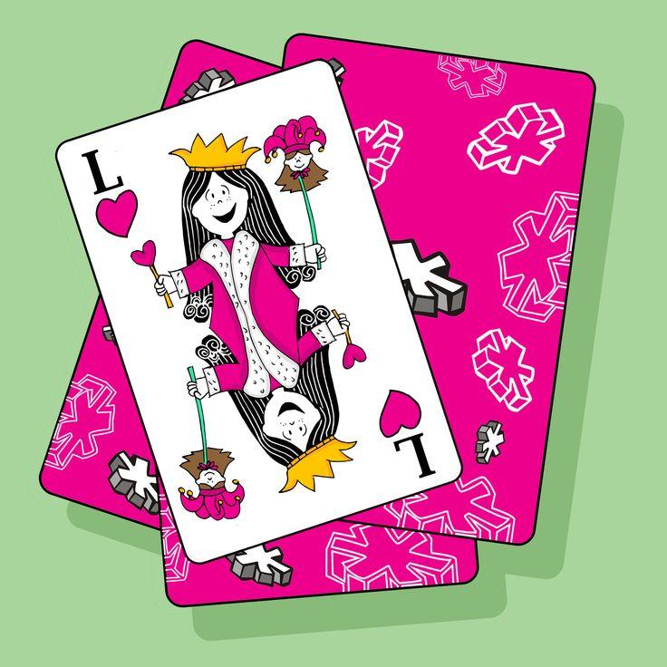 Queen Lux.  #lux #muñeca #pink #doll #card #carta #jocker #queen #fun #ilustration #ilustracion ver mas en FB: lux la muñeca