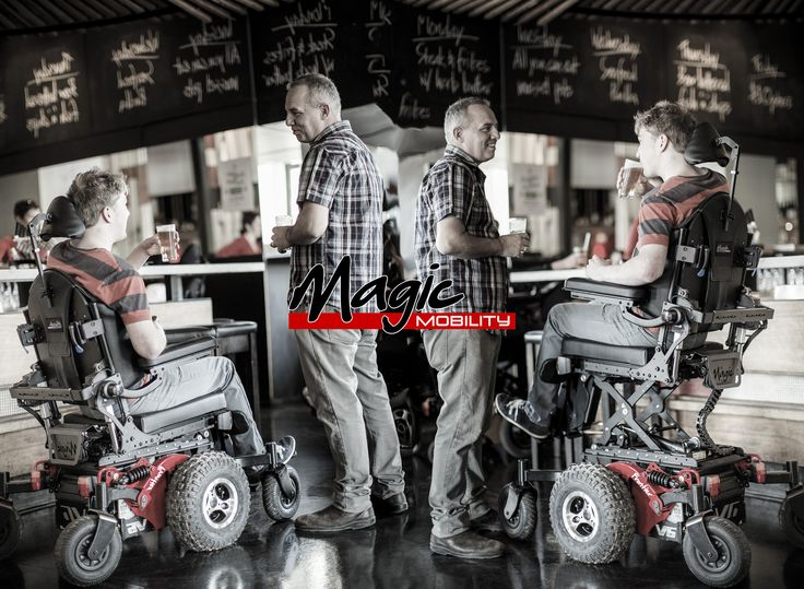 Elevate your wheelchair, raise your drink, and lift your game.