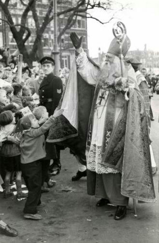 Intocht amsterdam 1955