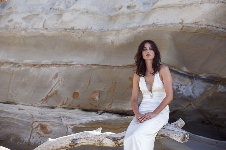 Choosing images from our recent collection photo shoot I cannot help but be struck by the beauty of our model. How amazing to be this beautiful with no Photoshop involved. What a lucky girl! #real #beauty #bridal #shoot #beach