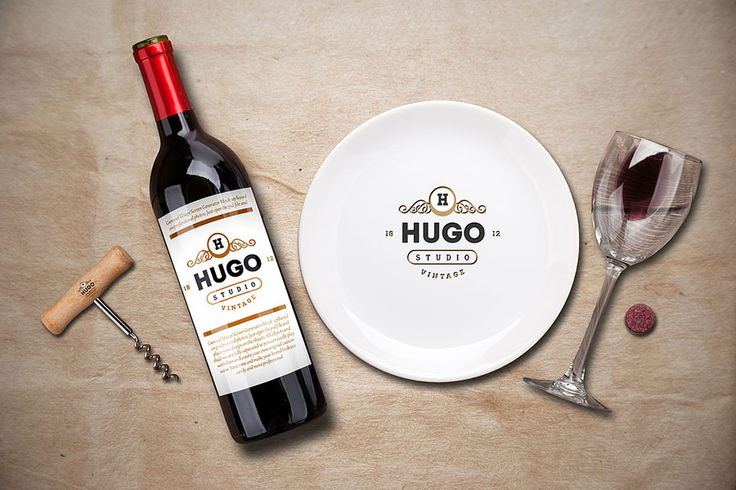 Free Wine Service Menu Creator Mock-Up on Behance
