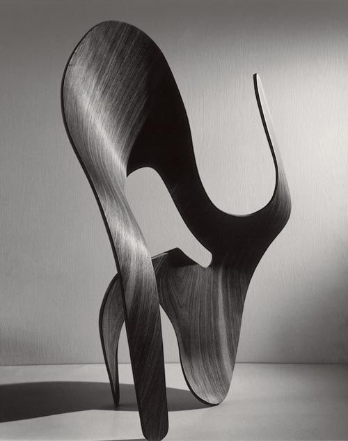 Ray Eames, untitled, 1943, plywood sculpture