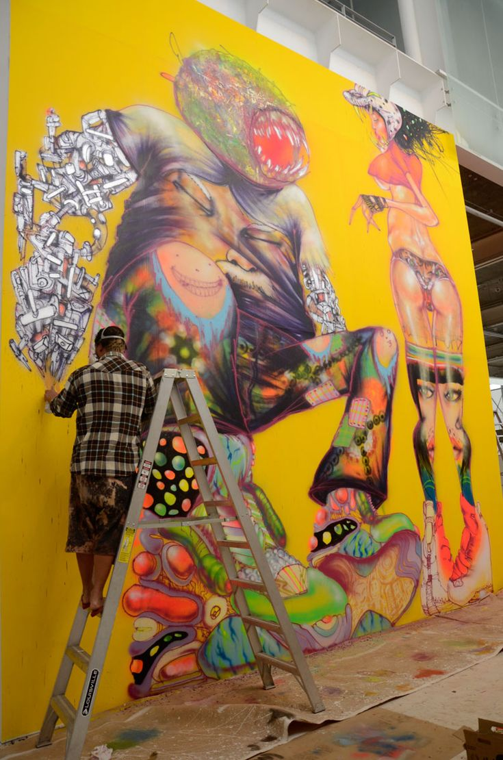 AM: David Choe @ Museo Universitario del Chopo