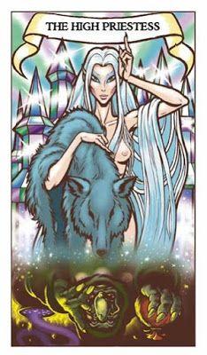 Una Baraja de Tarot con un lado Troll: Elfquest Tarot.   Aquarian Tarot