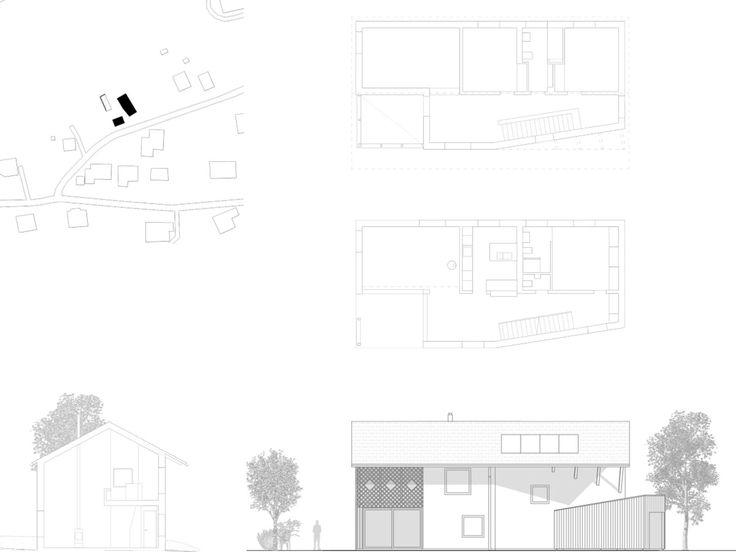 Alain Wolff architectes · Maison à Savièse