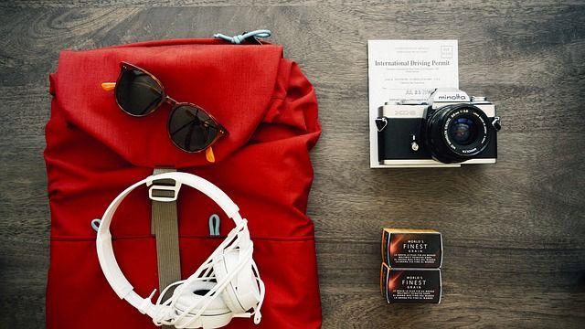 Accessoires à mettre dans son sac de voyage
