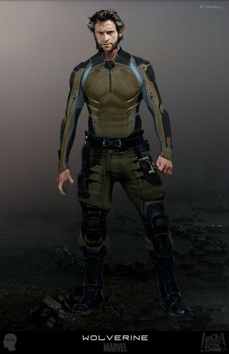 X-MEN: DAYS OF FUTURE PAST concept art shows alternate character designs. | X-Men Films