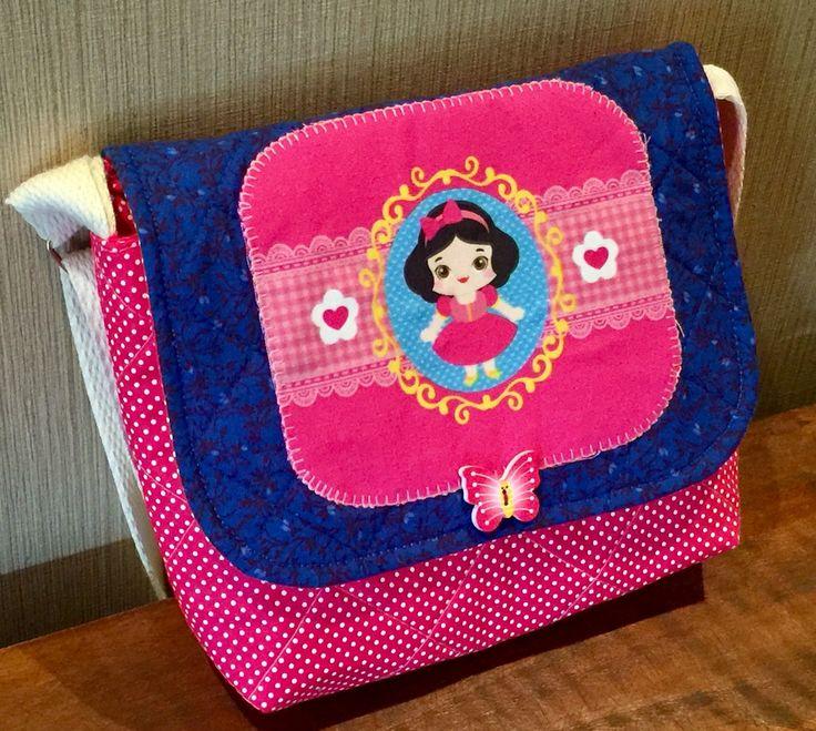 Bolsa Em Tecido Patchwork Feminina Com Alça Para Os Ombros : Melhores imagens de bolsa infantil em tecido no