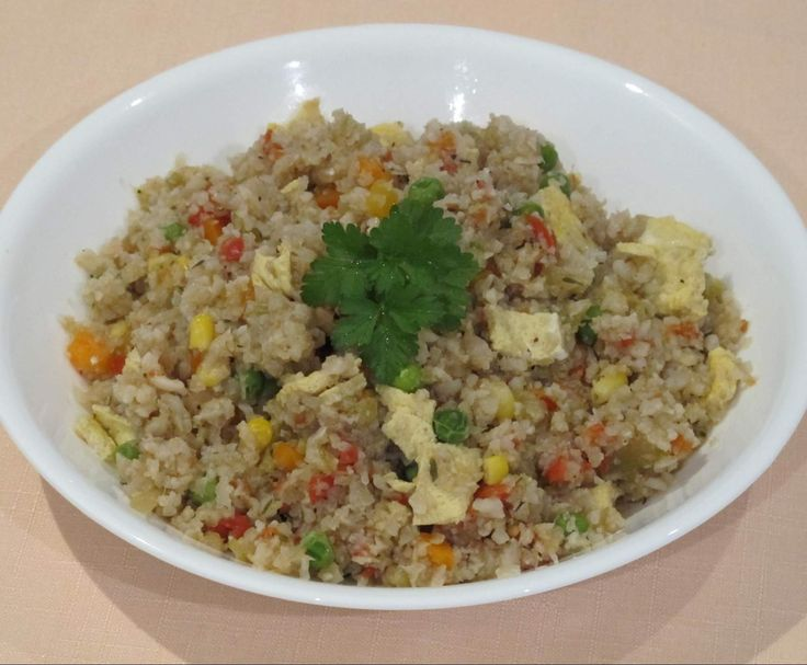Recipe Cauliflower 'Fried' Rice by The Power of Real Food - Recipe of category Main dishes - vegetarian