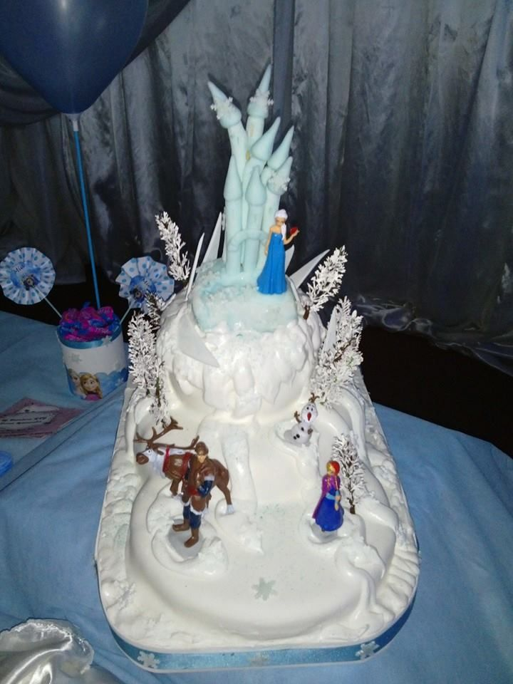 Torta de Frozen