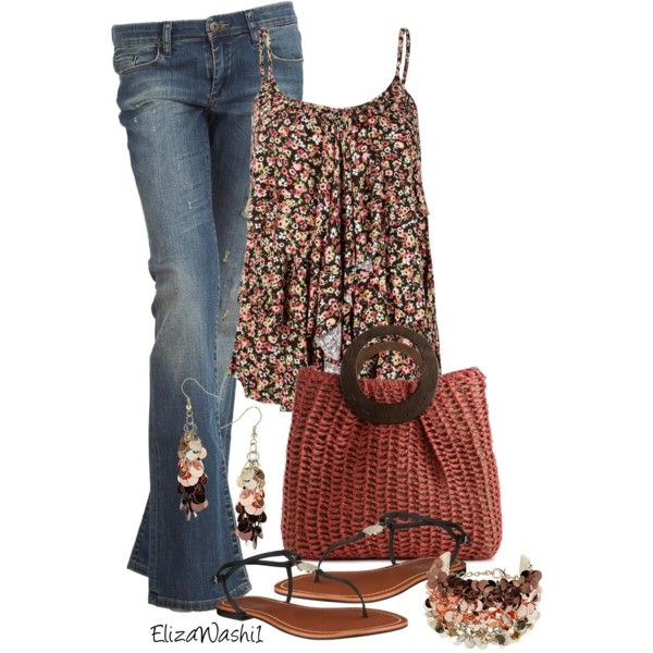 Untitled #99 by elizawashi1 on Polyvore featuring polyvore, fashion, style, Full Tilt, BLANK, Lauren Ralph Lauren, Kelly