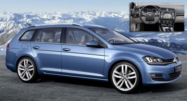 This Is The New VW Golf Variant or 2014 Jetta SportWagen