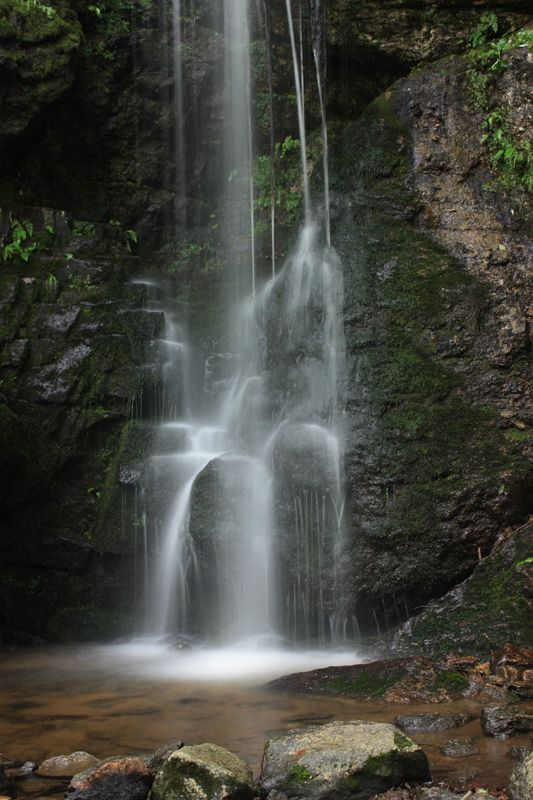 Blackledge Falls in Glastonbury, CT