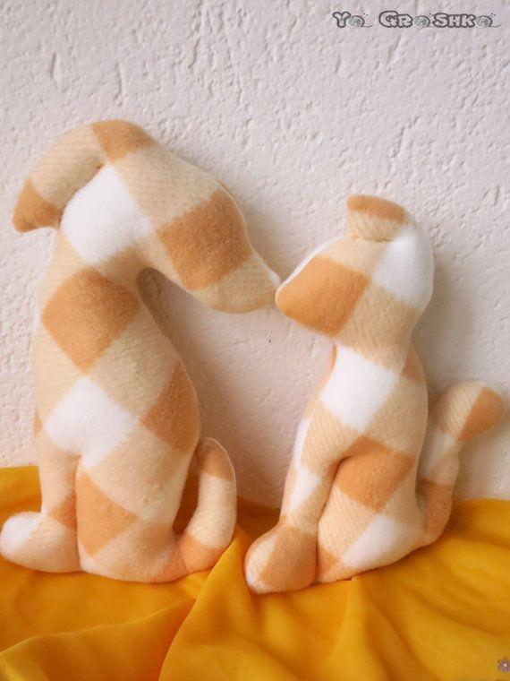 Friends  Modern Decorative Pillows / cat and dog by YaGrashka
